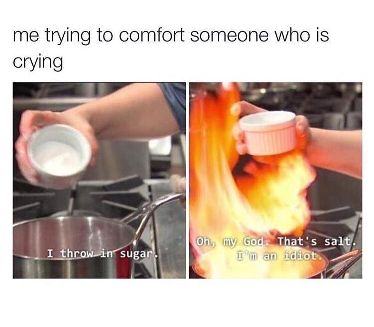 I am the salt lord - meme