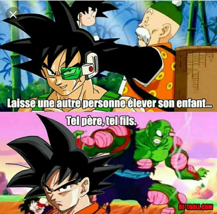 On t'aime quand meme Goku