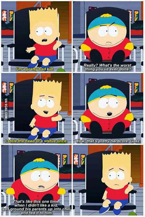 Cartman is a little shit. - meme