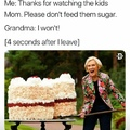 my grandma is dead