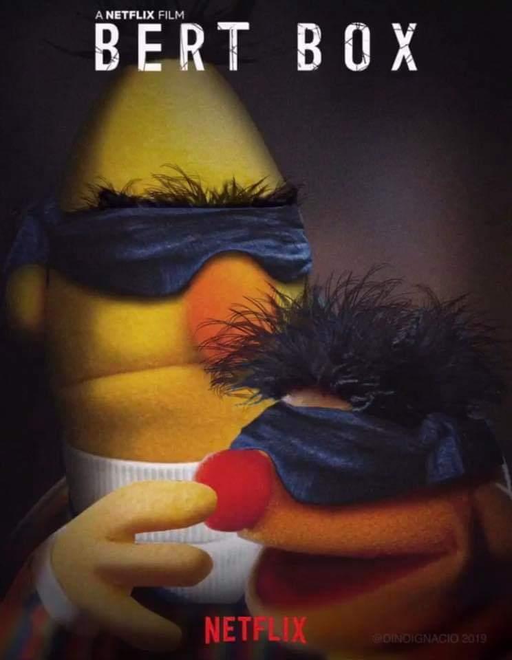 Bert box hahahaha - meme
