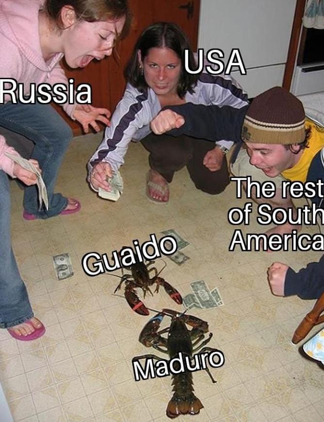 Caiduro vs Guiado (digam oi ao first) - meme