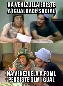 O titulo fugiu da venezuela - meme