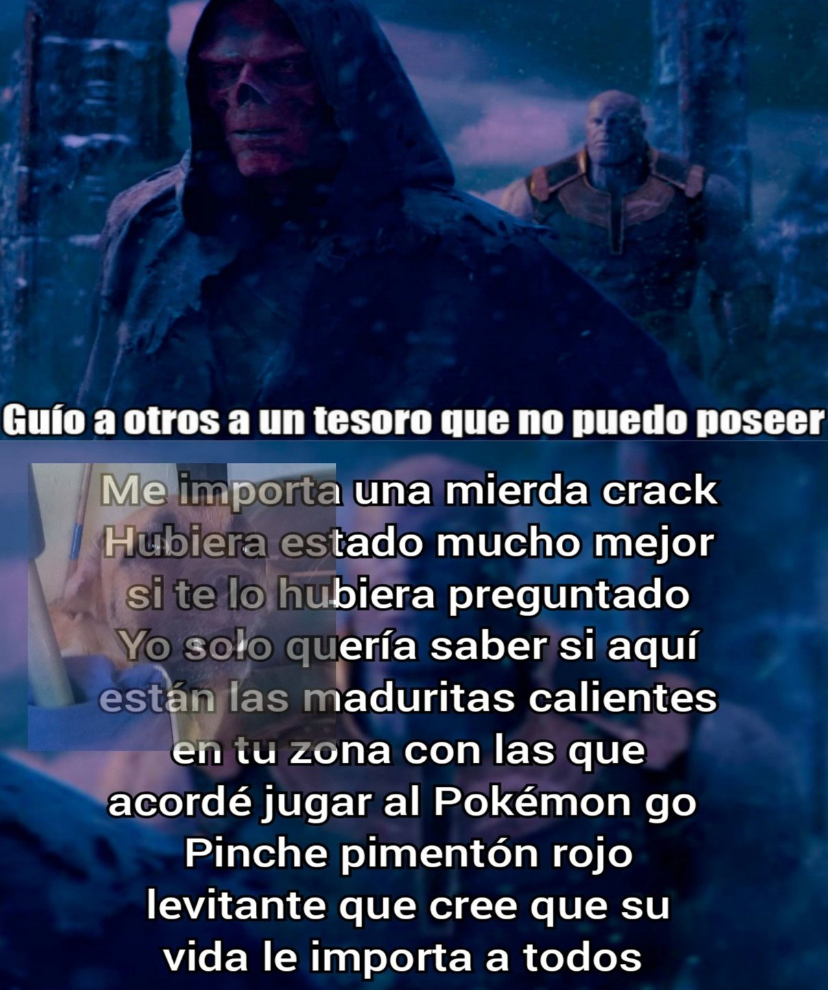 Pimentón rojo - meme