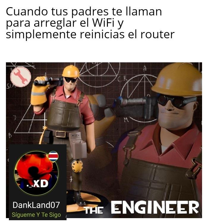 El Ingeniero - meme