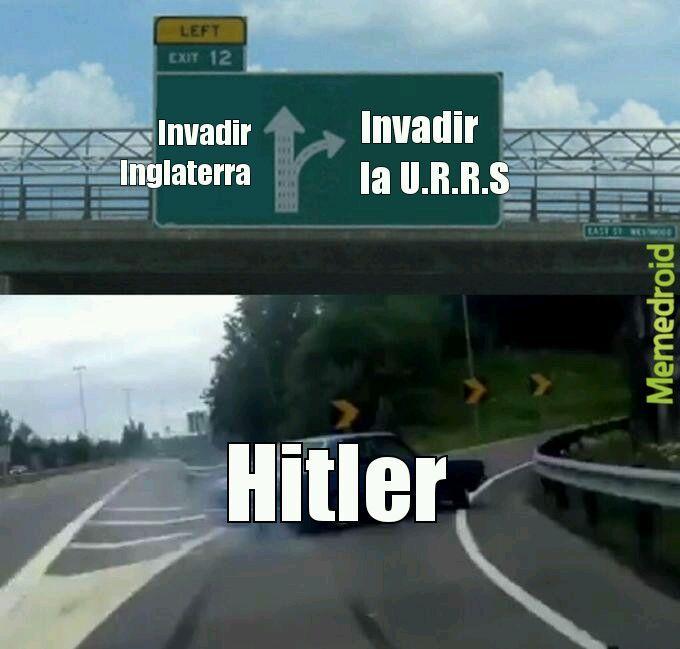 Historia de ww2 - meme