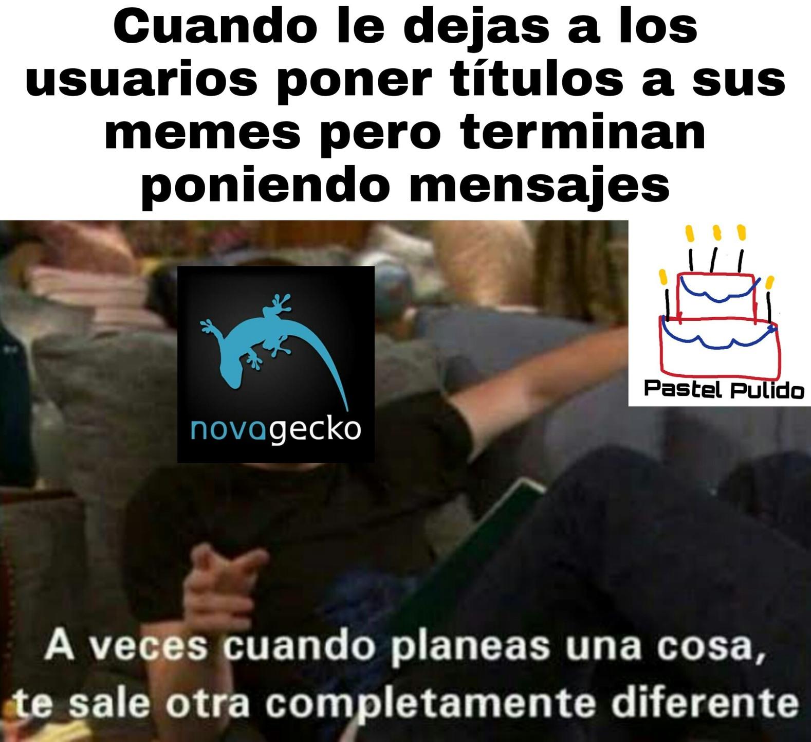 La sorpresa de Novagecko - meme