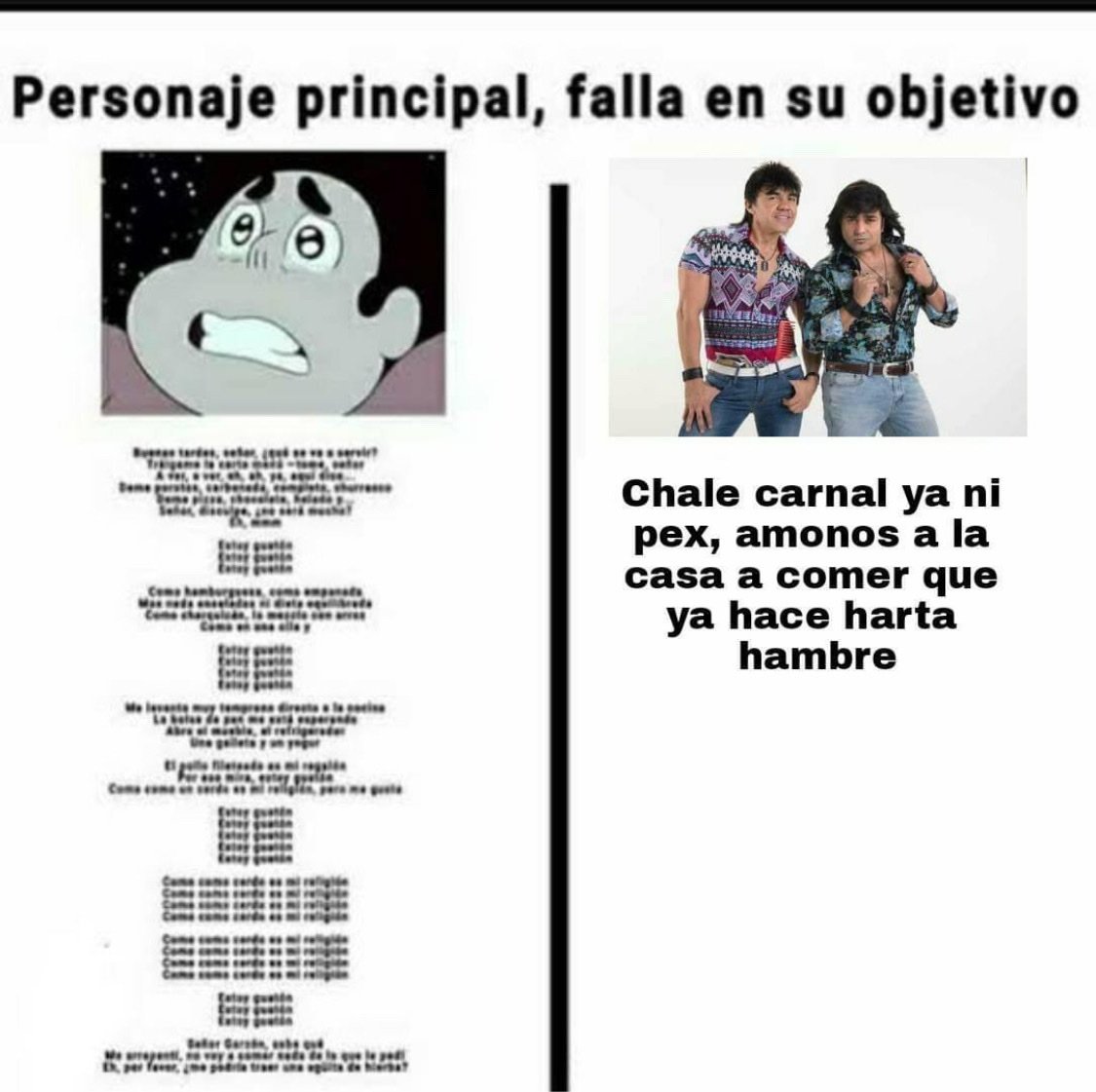 Nosotros los CHADS - meme