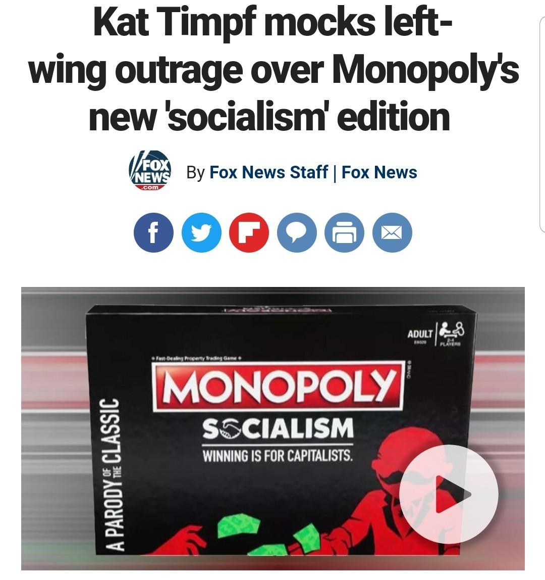 Monopoly Communism is the next version - meme
