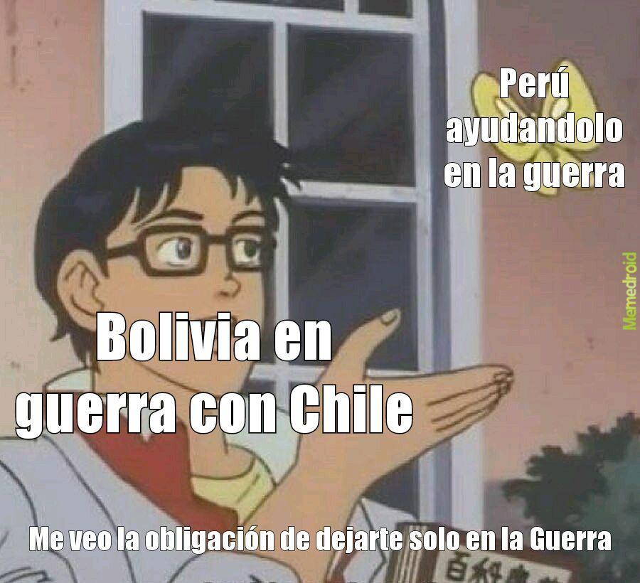 Perú solo gano 1 - meme