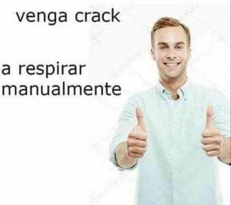 Venga crack! - meme