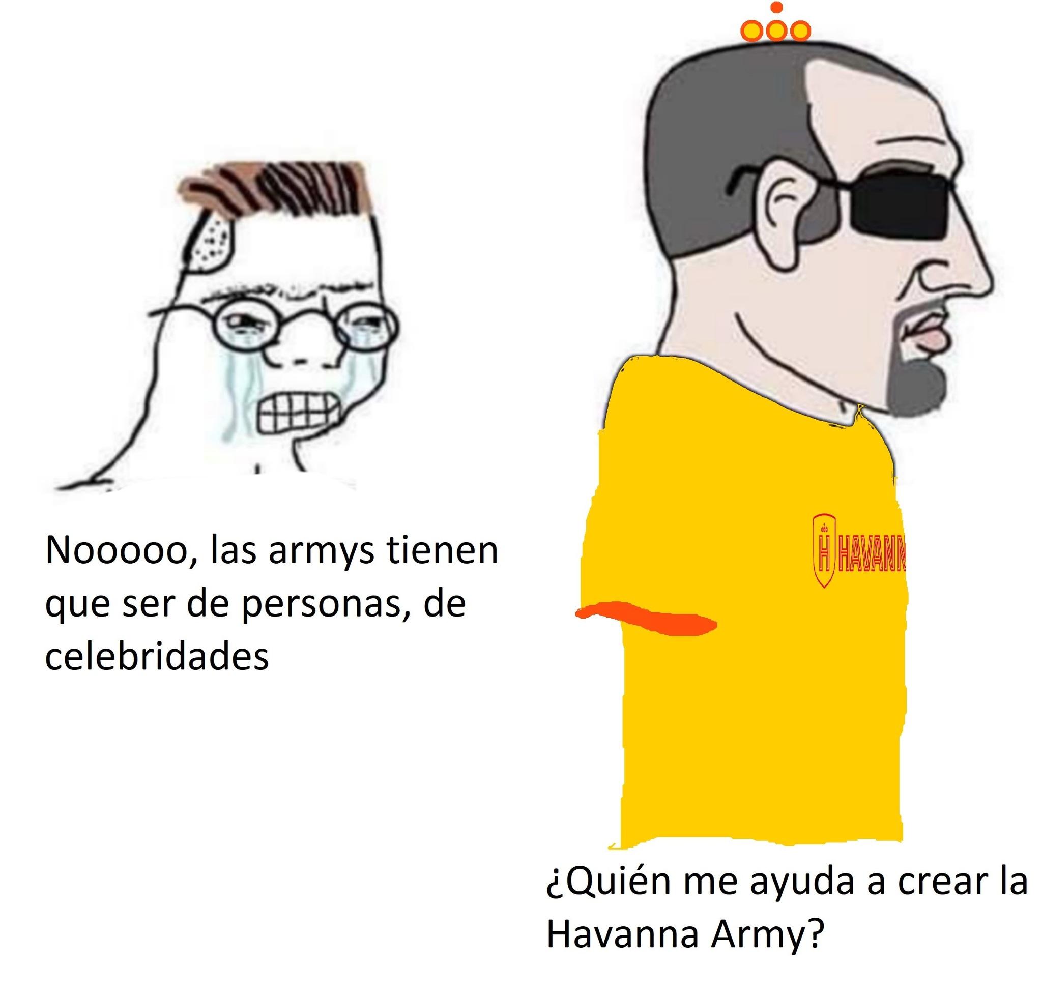 Havanna Army - meme