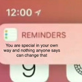 A reminder to have a good day <3