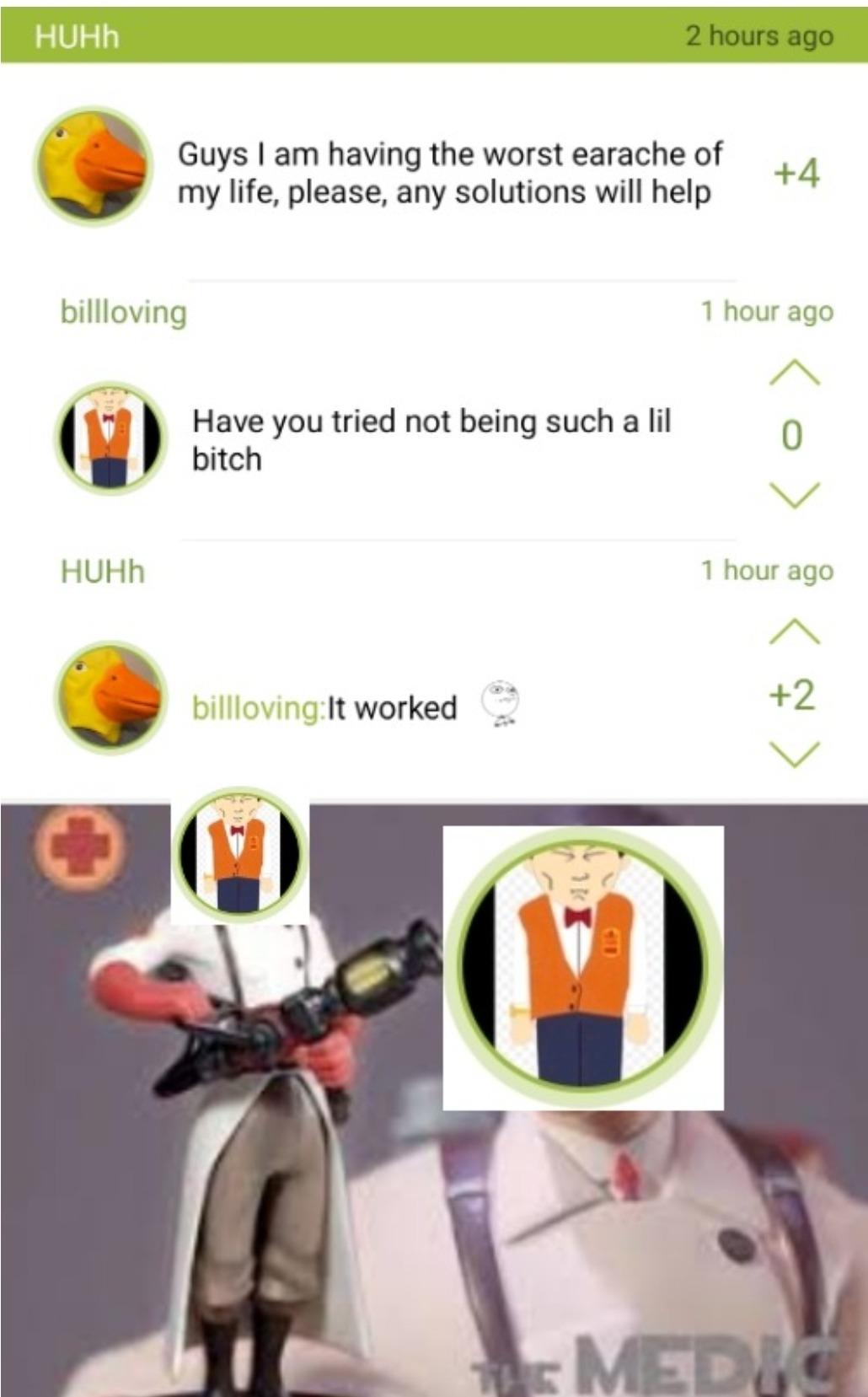 I need healing - meme
