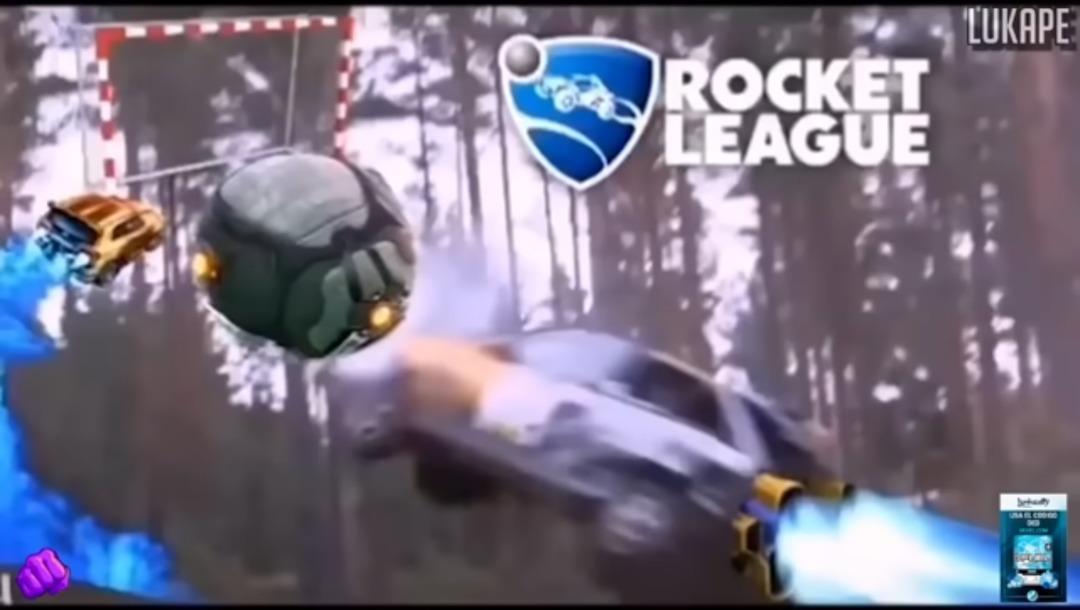 rocket leage - meme