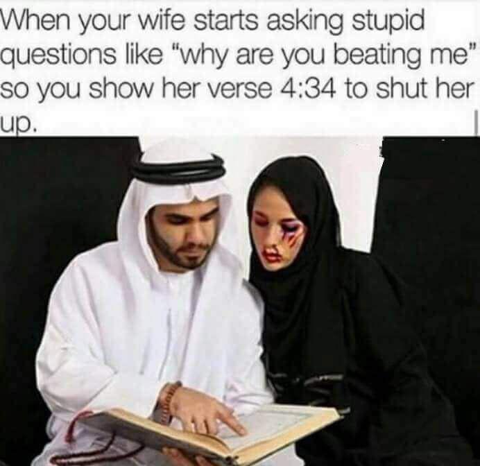 islam is amazing wink wink - meme