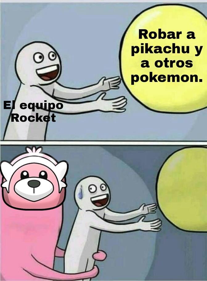 Meme del anime de pokemon