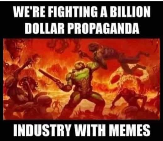 If they're banning us it must be effective lol - meme