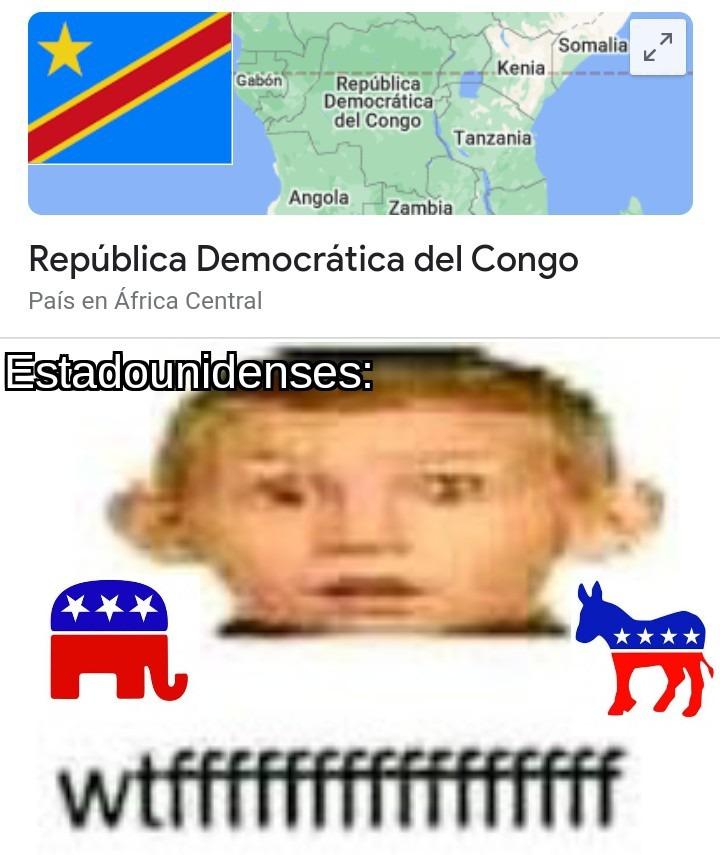 Republicanos y demócratas - meme
