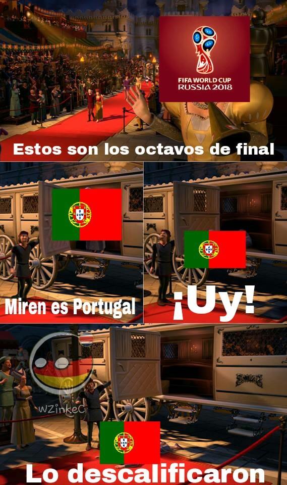 Adios portugal - meme