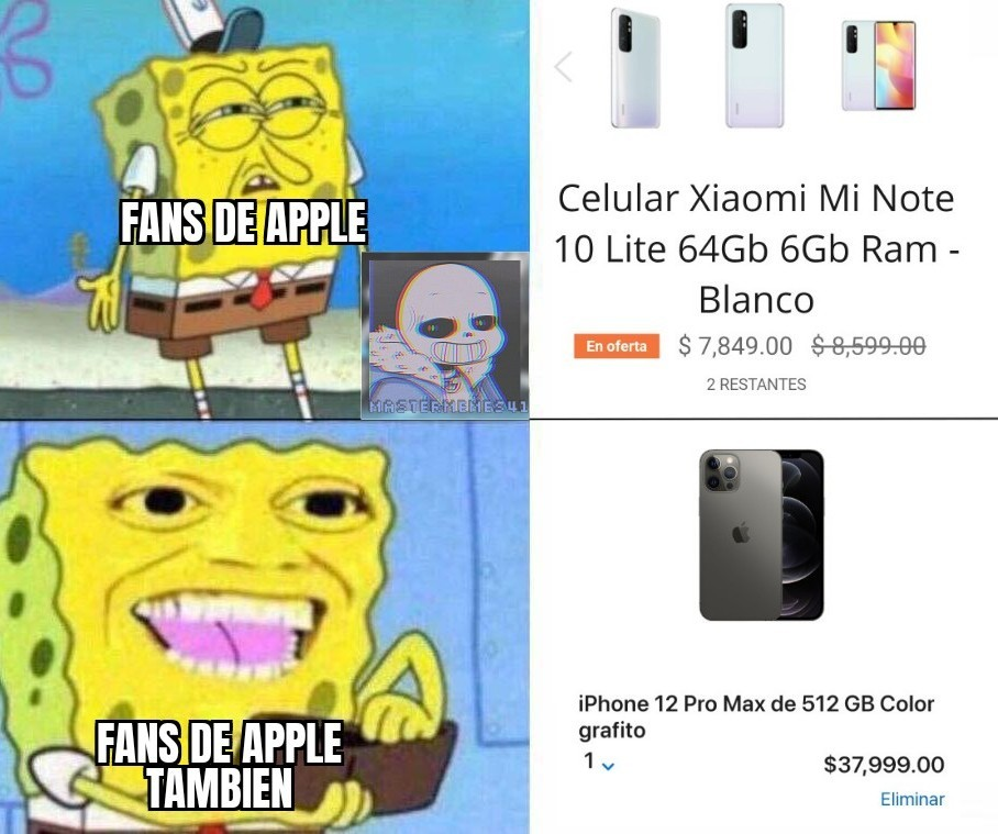 Fans de Apple be like: - meme