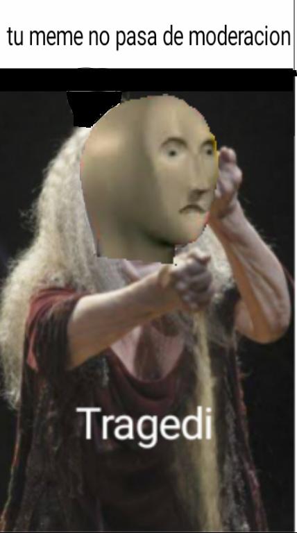 lo siento, hice mi propia plantilla - meme