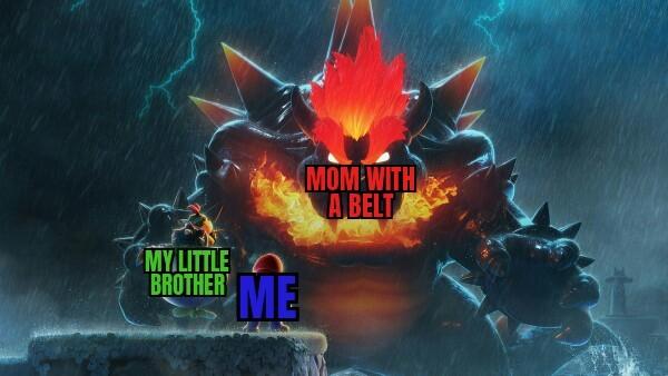When you broke dads computer - meme