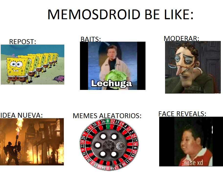 memes feos:
