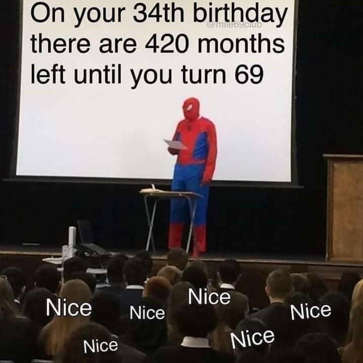 Say nice - meme