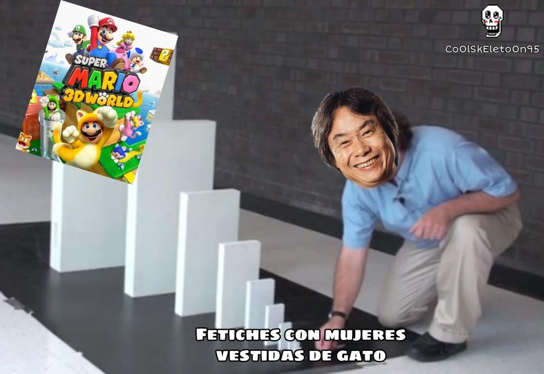 Miyamoto pillo - meme