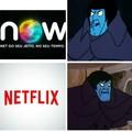 Now tentando substituir a Netflix