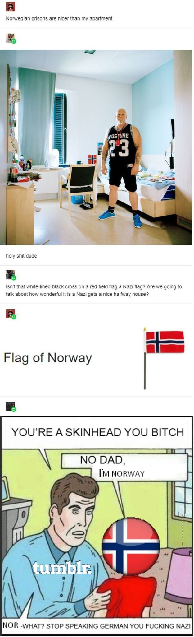 Norwegian gas chambers - meme