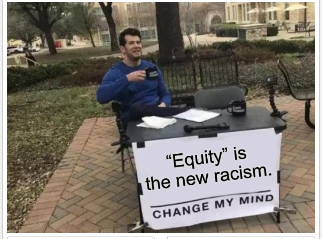 Favorite word of the neo-racist. - meme