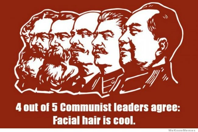 Beard is cool - meme