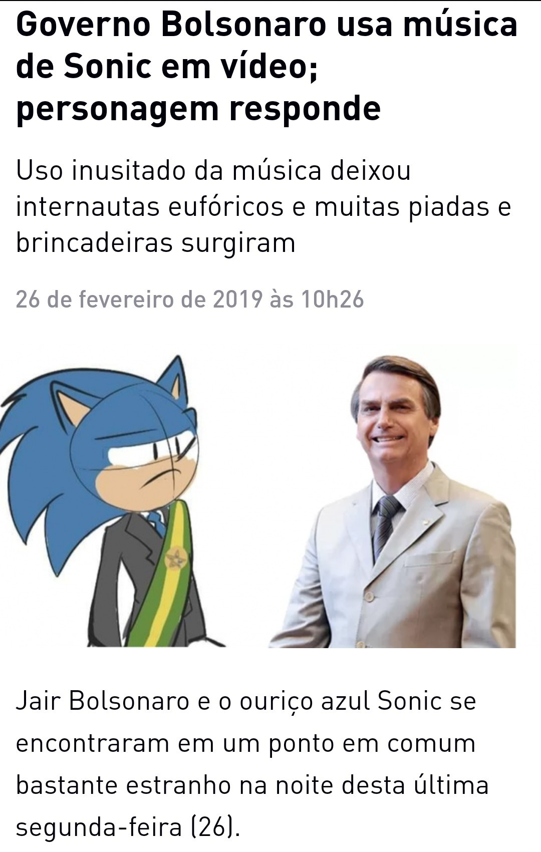 Bolsosonic - meme