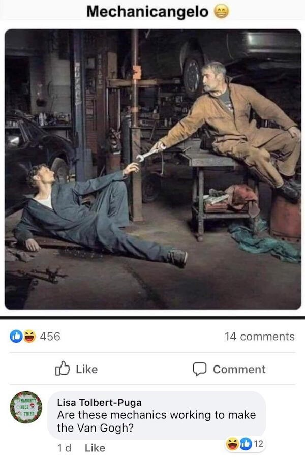 Love me a pun - meme