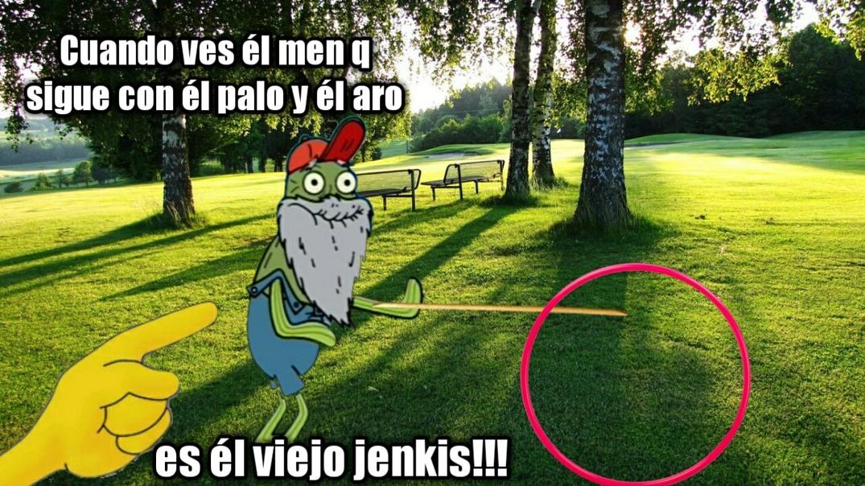 Es el viejo jenkis!!! - meme