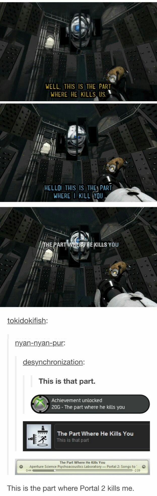The Part Where He Kills You - meme