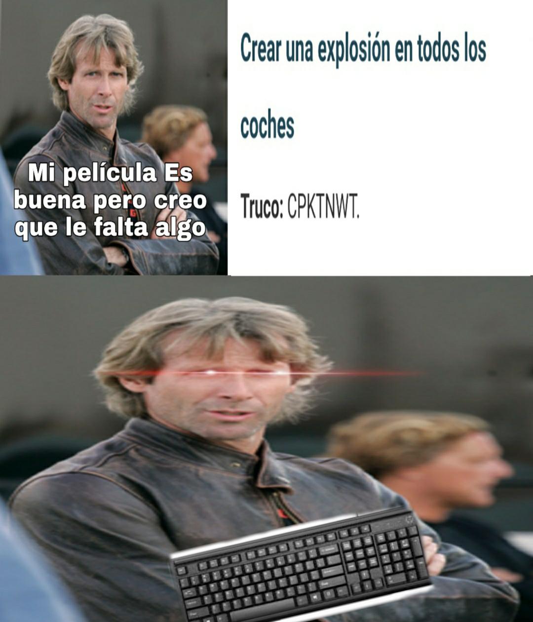 DIRIGIDO POR MICHAEL BAY - meme