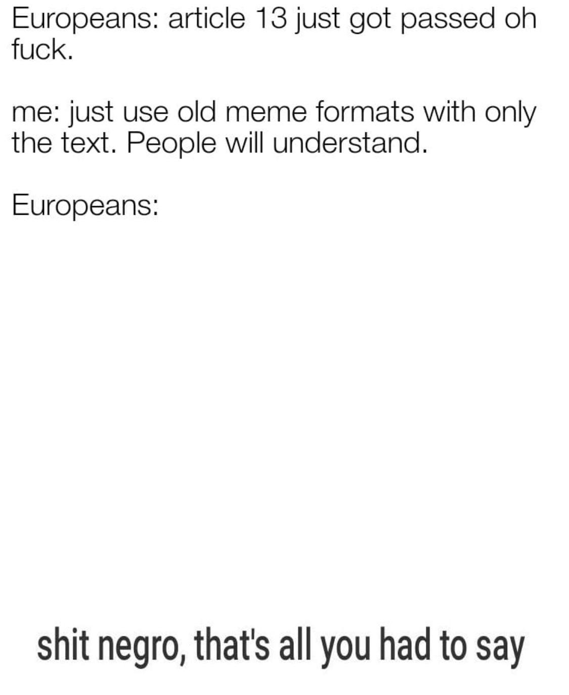we lost, all of us - meme