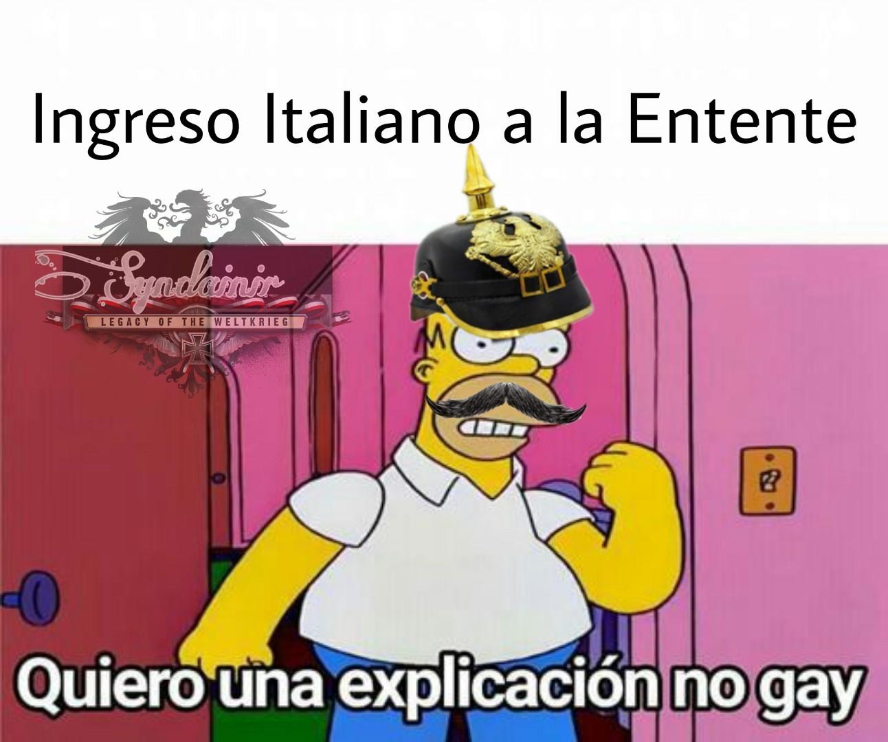 Quien es peor aliado? Italia o Bolivia? - meme