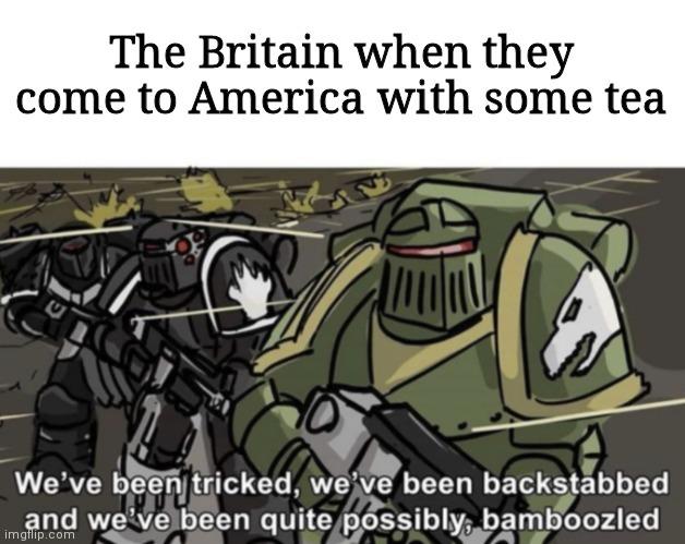 Just for tea - meme