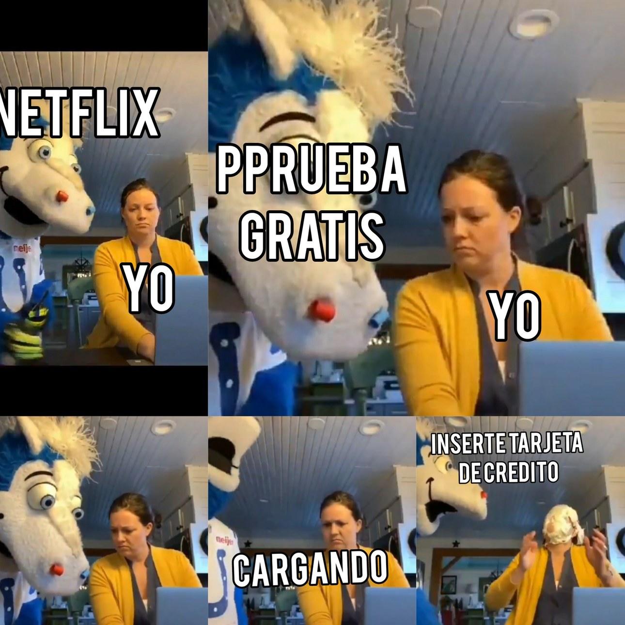 Netflix y sus mamadas acepten plx - meme