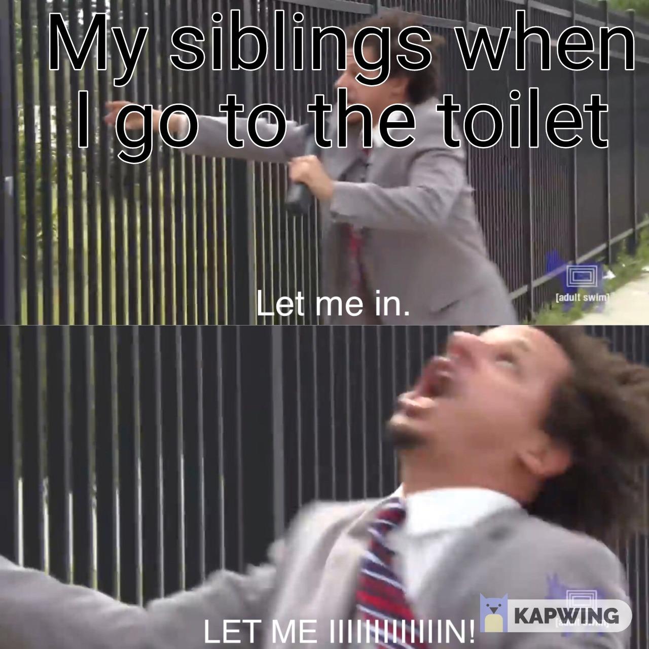 Big Family Problems - meme