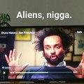 Black aliens