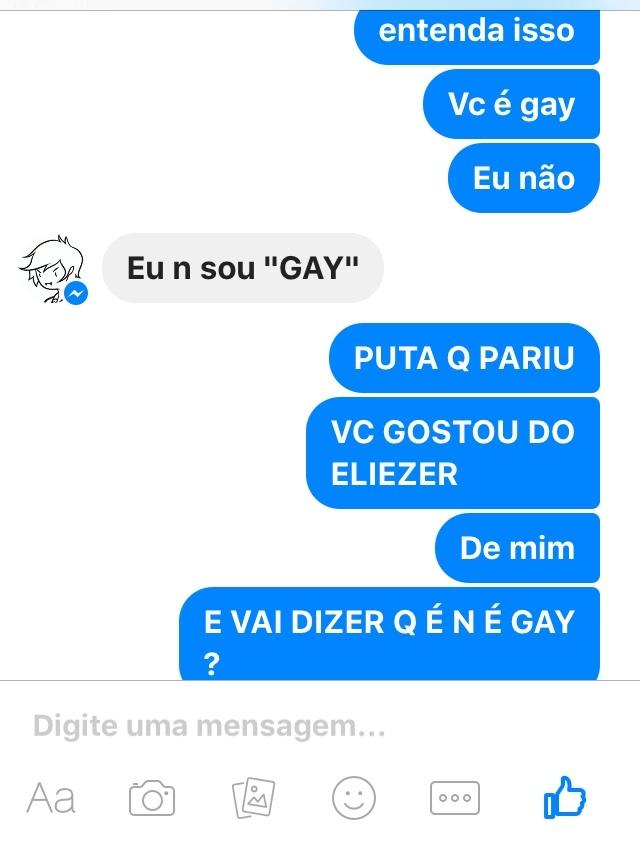não não , não é gay não , imagina - meme