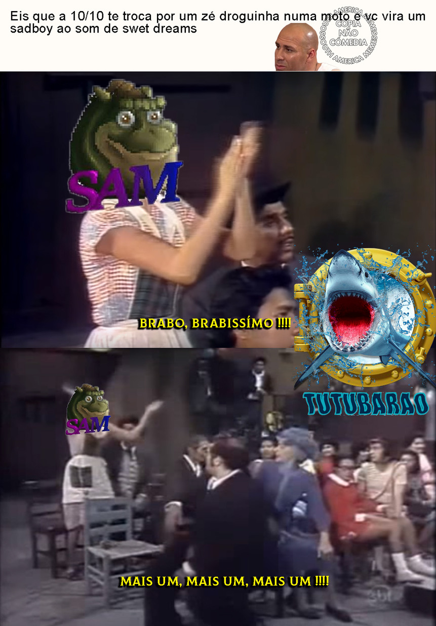 (Tutubarão) - meme