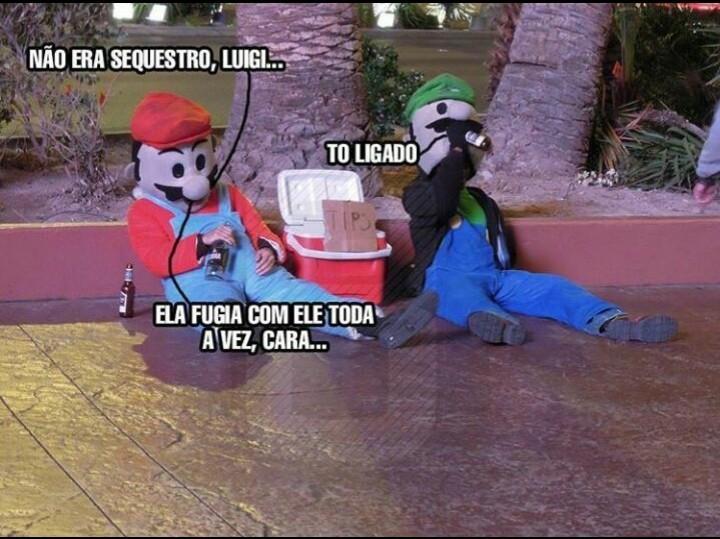 Super Corno Bros - meme