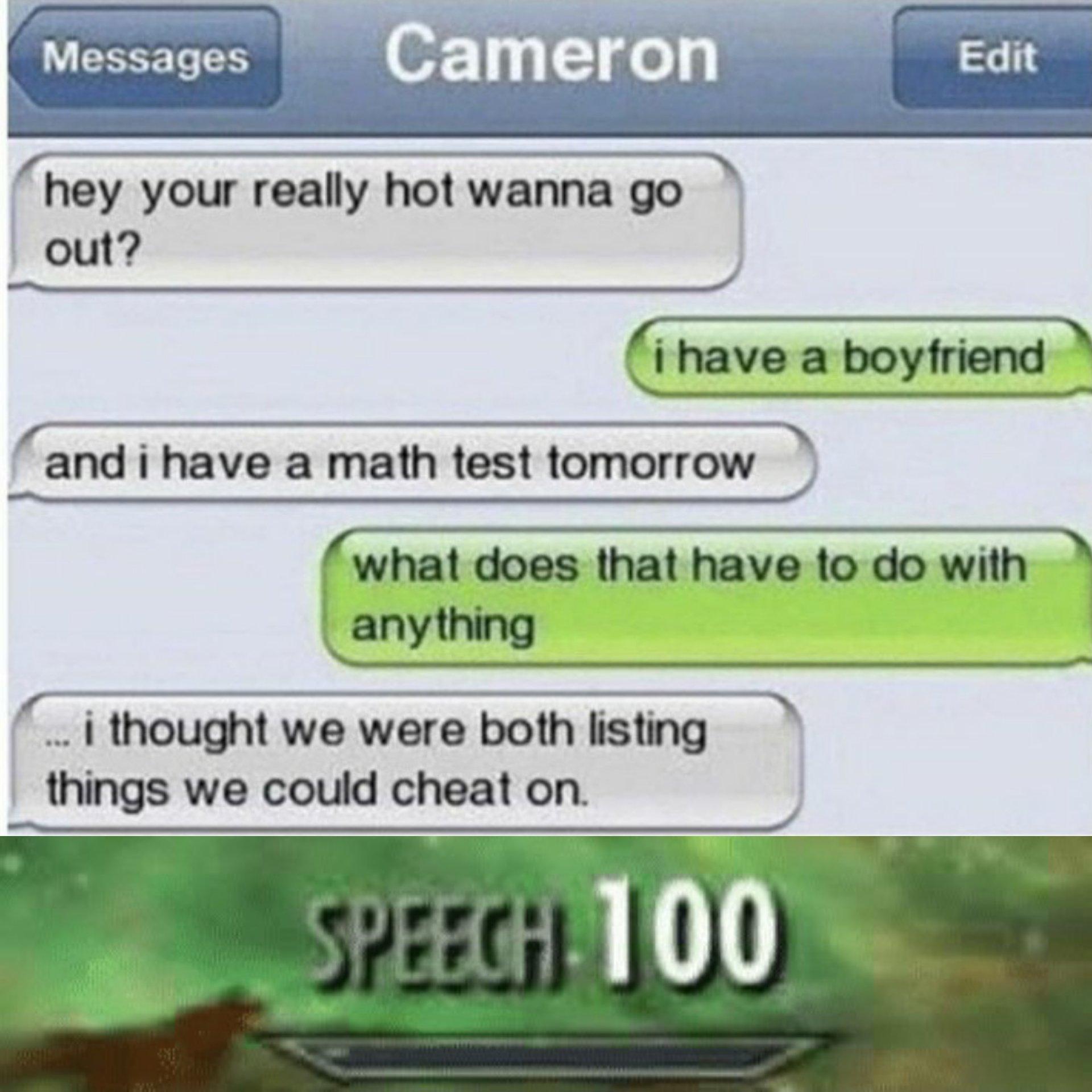 Speech : 100 - meme