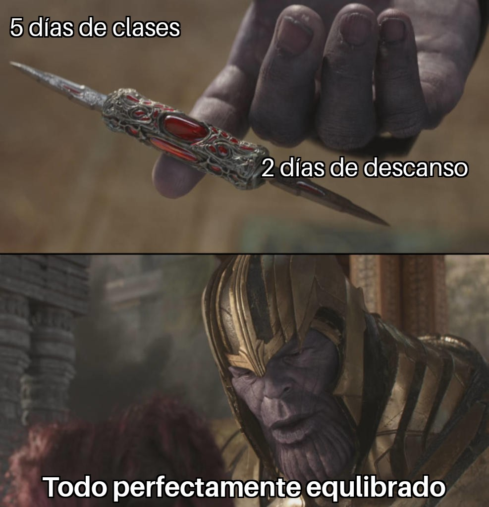 Thanostudiante - meme